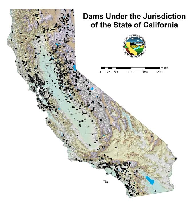 California Dams Maven S Notebook Water News