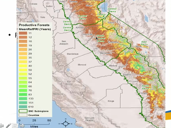Wildfire And Droughts In Sierra Nevada Forests Maven S Notebook