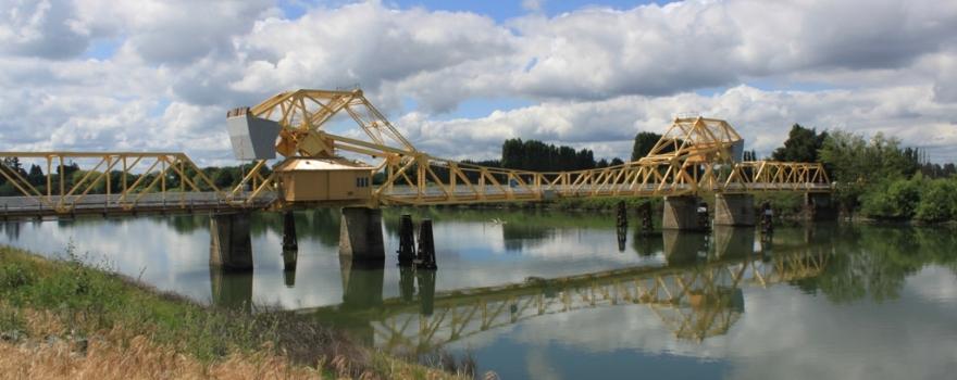 Yellow Bridge with clouds #2 sliderbox