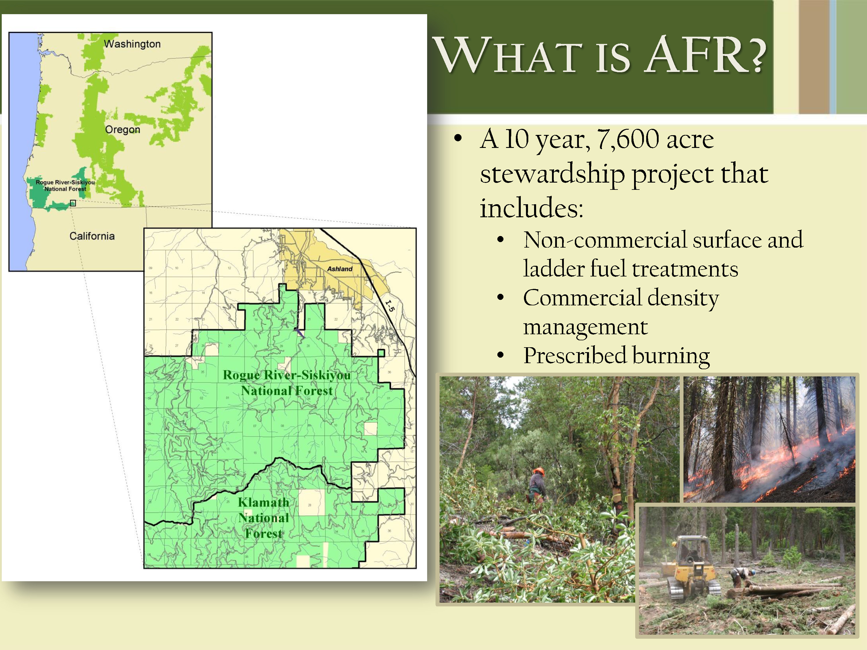 don boucher project manager ashland forest resiliency stewardship project united states forest service