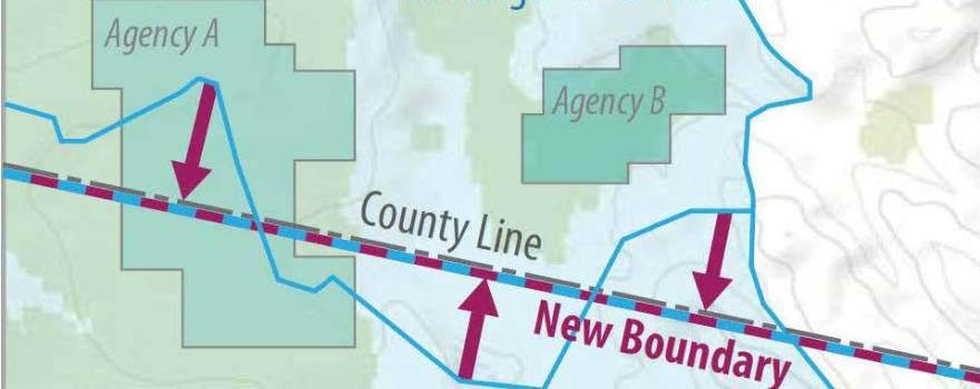 Basin boundary sliderbox