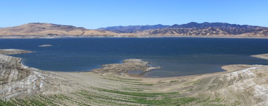 San Luis Reservoir July 2013 sliderbox