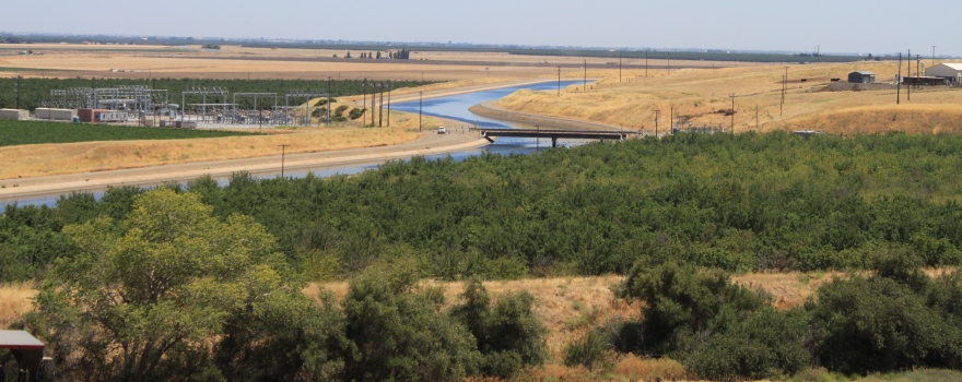 California Aqueduct through the Central Valley June 2015 #1