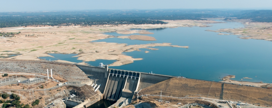 Folsom Lake drought sliderbox