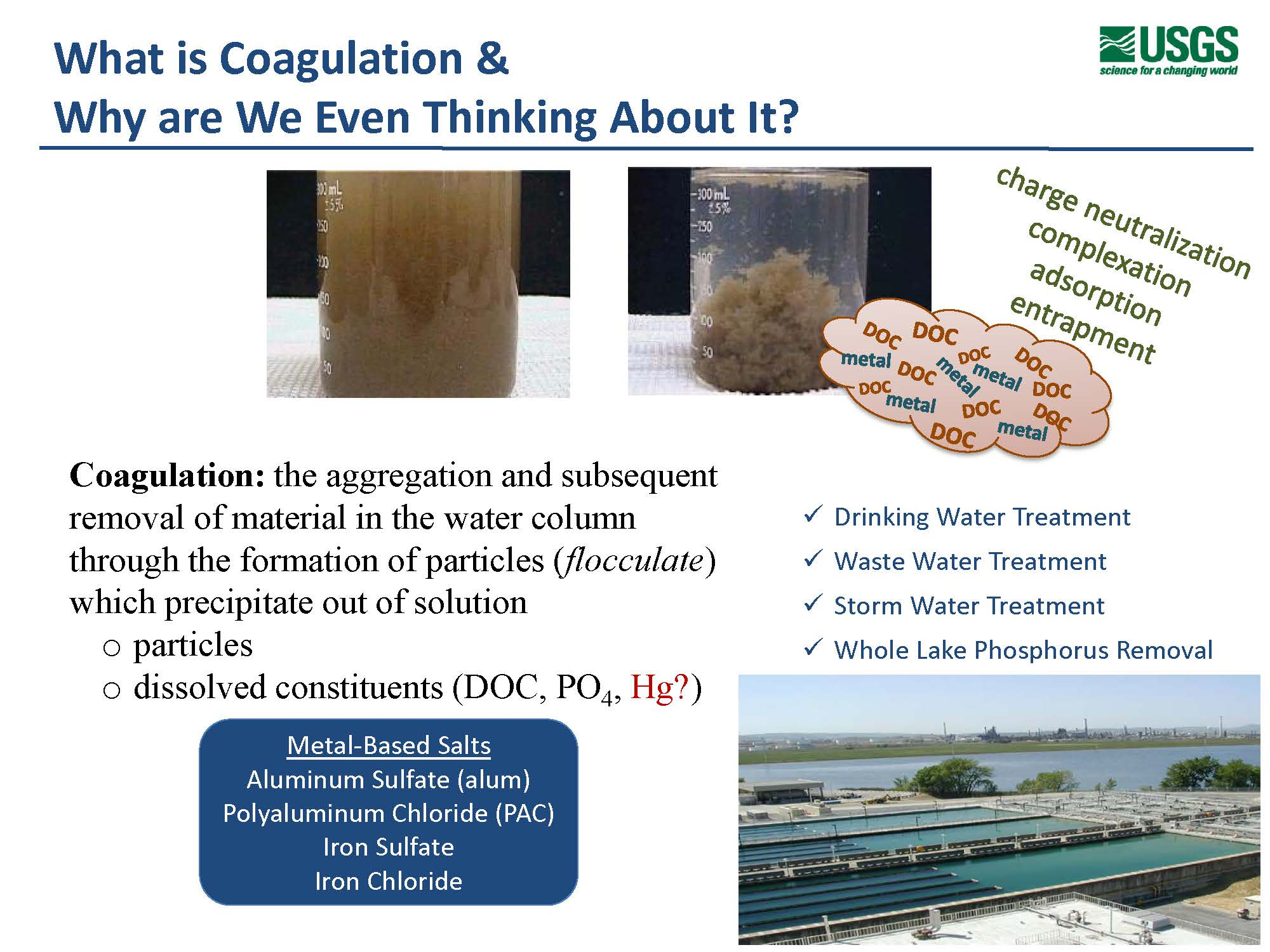 Removal of mercury from surface waters using coagulation MAVEN S