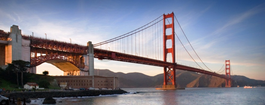 Golden Gate Bridge Wikimedia David Ball