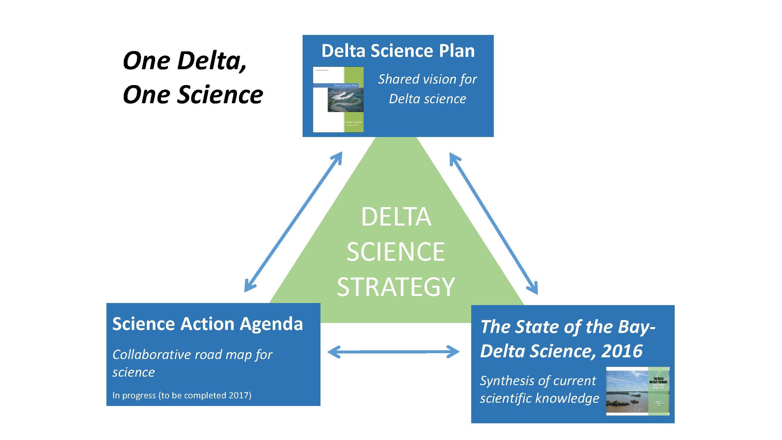 DELTA PLAN INTERAGENCY IMPLEMENTATION COMMITTEE: Linking