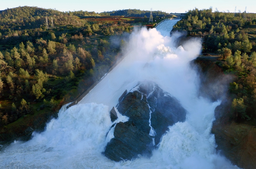DAILY DIGEST, weekend edition: Lake Oroville flows over