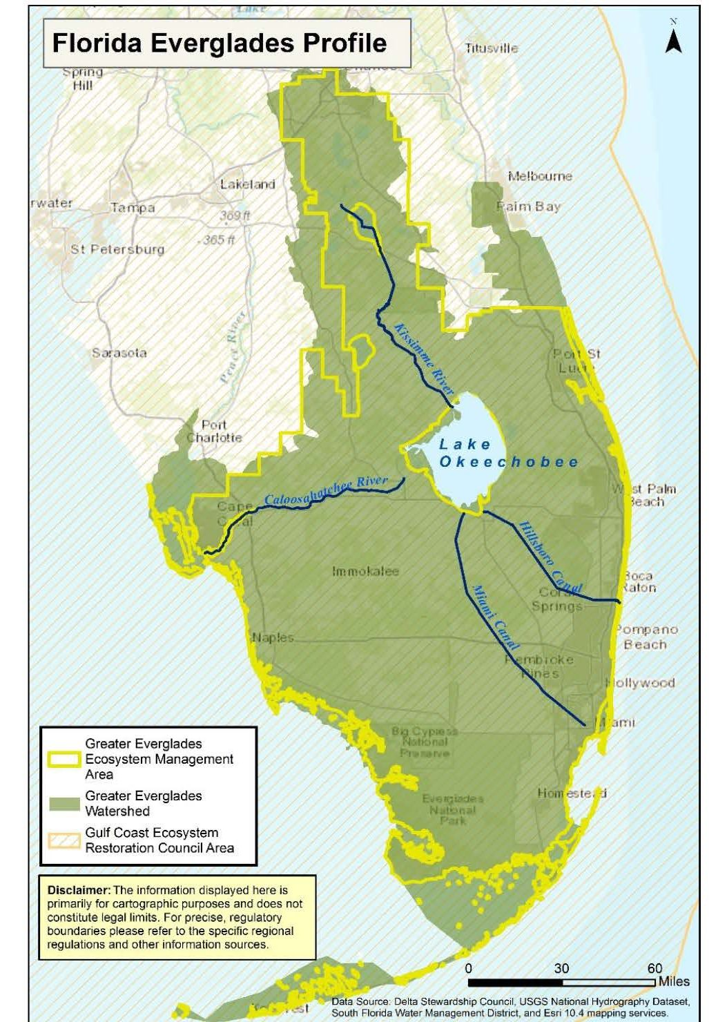 America's Everglades - The largest subtropical wilderness in the United States