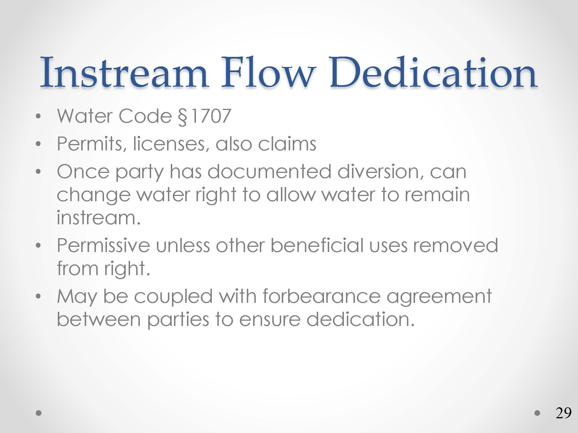 Ca Water Commission A Primer On Water Rights Permitting And Change