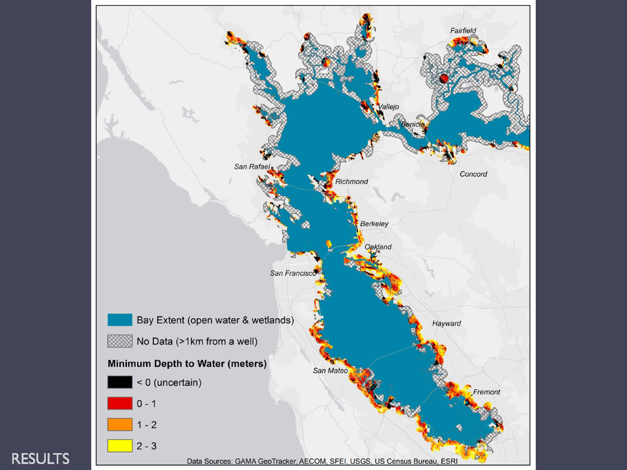 Bay Delta Science Conference Emergent Groundwater And Sea Level Rise In The San Francisco Bay Area The Silent And Largely Unknown Underground Threat Maven S Notebook Water News It is a process of mapping a network of lands that will maintain the biodiversity of a region. emergent groundwater and sea level rise