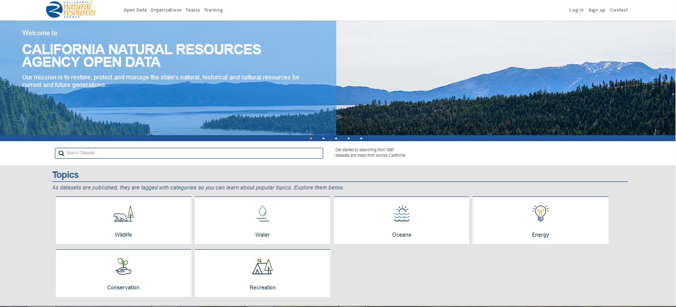 CNRA water data website ~ MAVEN'S NOTEBOOK   Water news