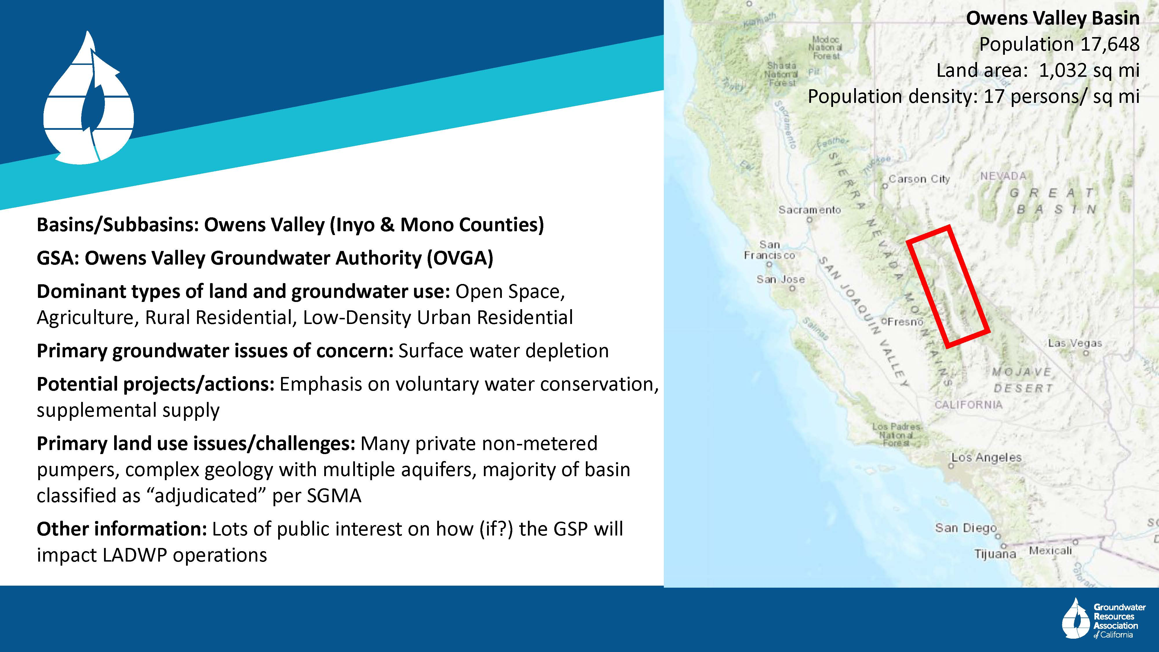 GSA SUMMIT: SGMA and Land Use Issues ~ MAVEN'S NOTEBOOK