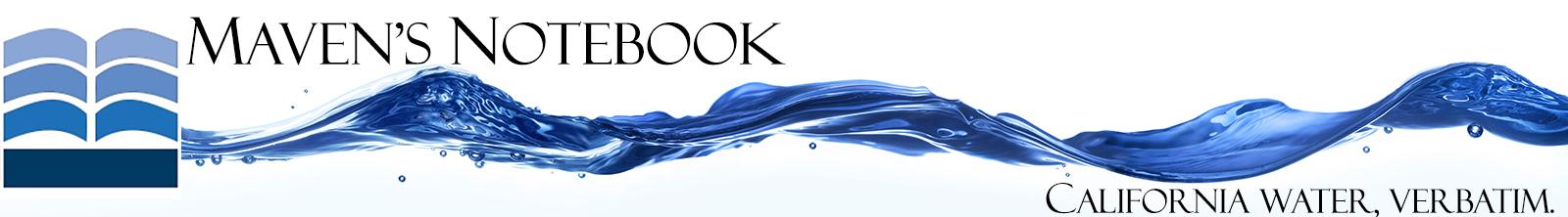 MAVEN'S NOTEBOOK | Water news logo